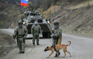 russian army Artsakh