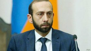 Ararat Mirzoyan President of the National Assembly of Armenia