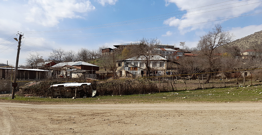 Machkalashen village