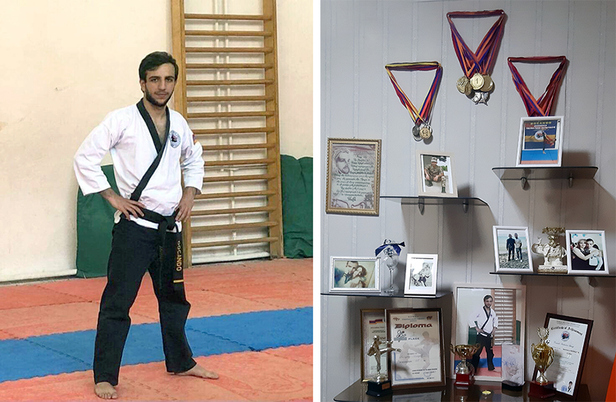 Israel Akinyan karate