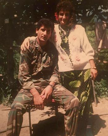 Irina Musaelyan & husband