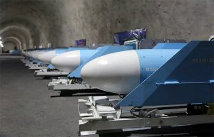 Iran underground weapons depots