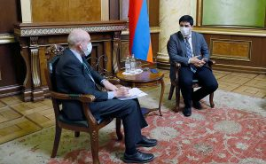 Yeghishe Kirakosyan meet to Michael Banzhaf