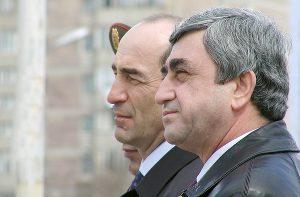 Robert Kocharyan & Serzh Sargsyan
