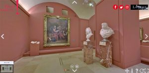 virtual tour of the Louvre