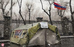 Protest 01.03.21 Baghramyan str.