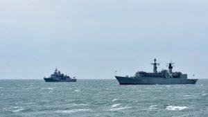 NATO ships in Georgia