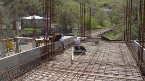 new constraction in Artsakh