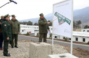 Mobile towns for peacekeepers in Karabakh