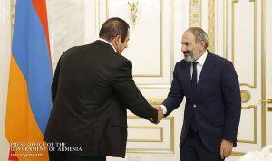 pashinyan meet tsarukya