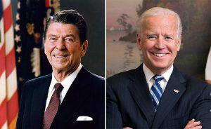Ronald Reagan vs Joe Biden