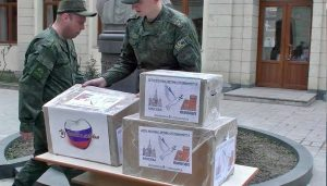 Russia humanitarian aid Artsakh