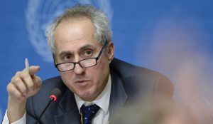 Stéphane Dujarric Spokesperson for the Secretary-General of the UN