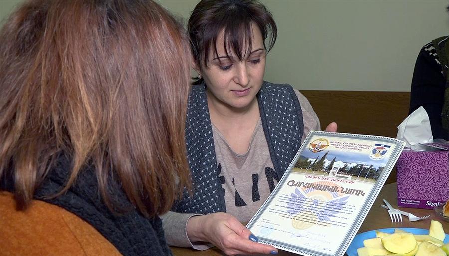 Susanna Mikaelyan Jrakus Artsakh
