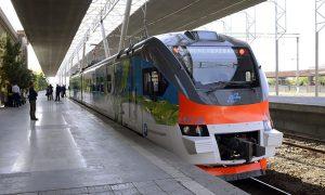 Armenia train