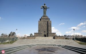 Mother Armenia monument
