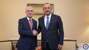 David Zalkaliani & Mevlüt Çavuşoğlu
