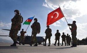 Azerbaijan and Turkey joint military exercises