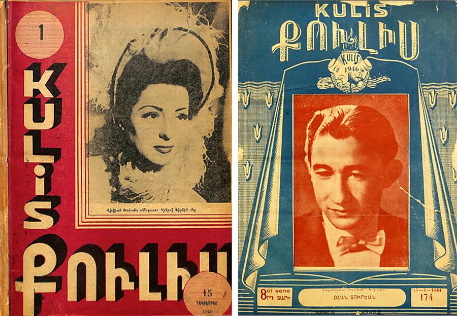 """""""Coulisse"""" magazine Istanbul"""