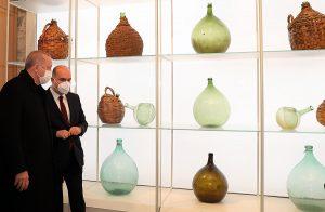 Erdogan glass exhibition