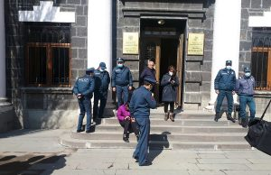 Gyumri protest