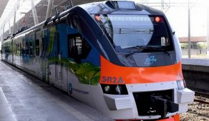 Gyumri-Yerevan train