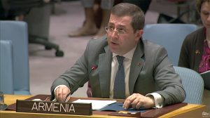 Mher Margaryan Ambassador, Armenia Permanent Representative UN
