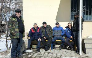 Megradzor residents
