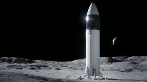 Elon Musk & moon