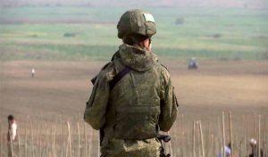 Russian peacekeepers in Artsakh