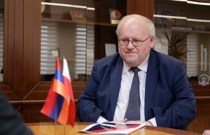 Pavel Cheplak Ambassador of Poland to Armenia