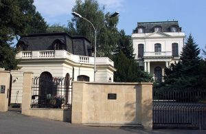 Russian embassyin Prague