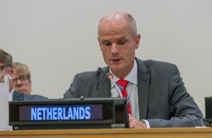 Stef Blok Minister of Foreign Affairs of the Netherlands
