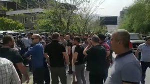 Agarak protest action