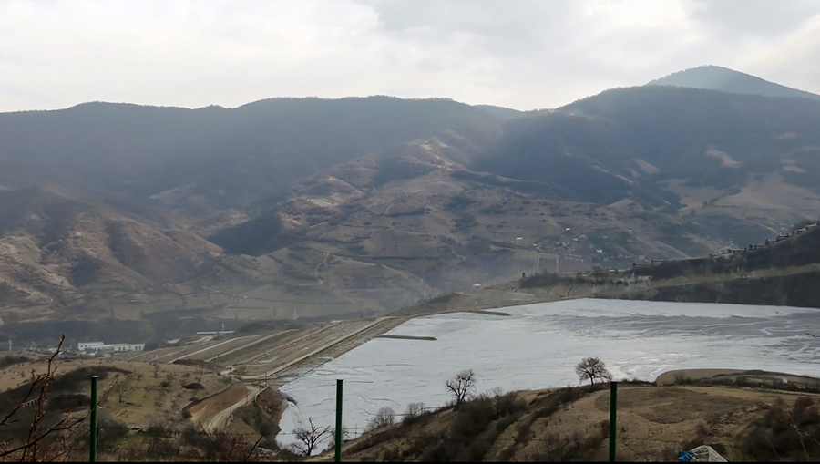 Teghut Tailing dump