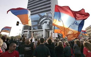 armenian genocide protest in us