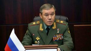 Valery Gerasimov Chief of the General Staff of the Armed Forces of Russia