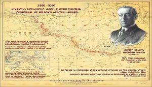 Woodrow Wilsons map