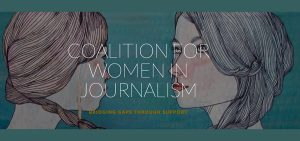 The Coalition For Women In Journalism logo
