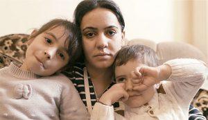 Arevik Balayan with children