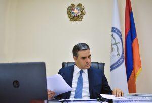 Arman Tatoyan Human Rights Defender (Ombudsman) of Armenia