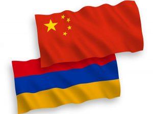 Armenia & China flags