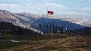 Armenian flag bord