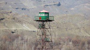 Armenia Iran border