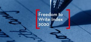 Freedom to Write Index 2020