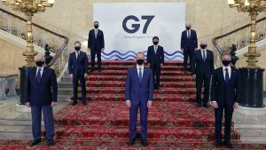 Foreign ministers G7 in London