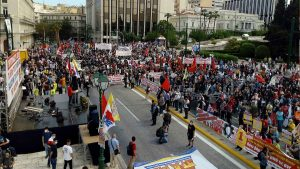 Athens Greece protest