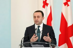 Irakli Gharibashvili in Yerevan