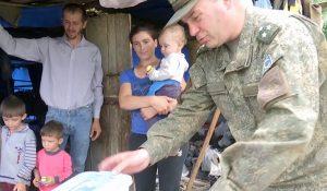 Russia humanitarian aid Karabakh