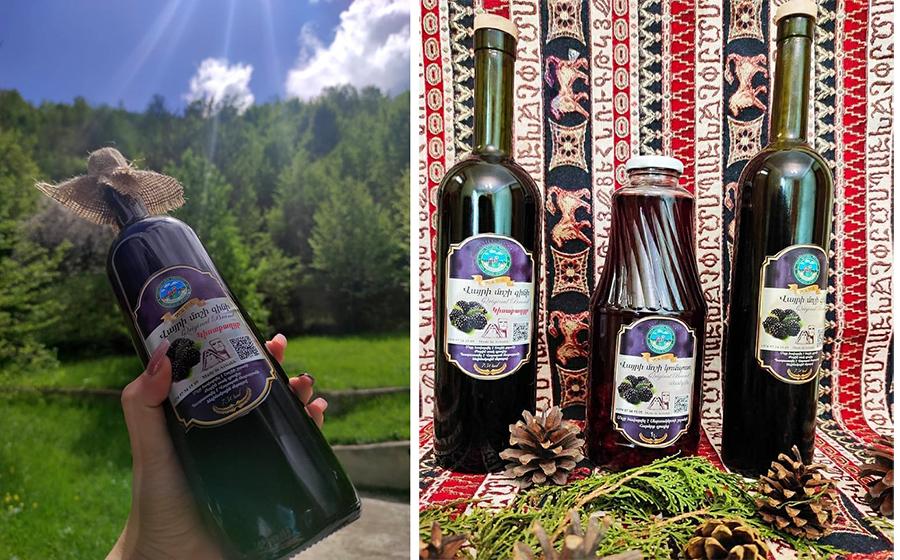 Samvel Mirzakhanyan wine